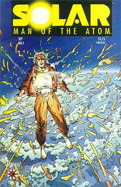 Solar: Man of the Atom 1 cover by Barry Windsor-Smith